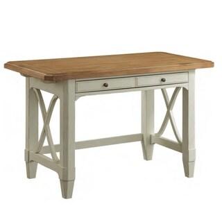 Panama Jack Millbrook Sand/Antiqued Buttermilk Finish Wooden Writing Desk