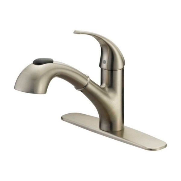 Shop Oakbrook Pacifica Pull Out One Handle Brushed Nickel