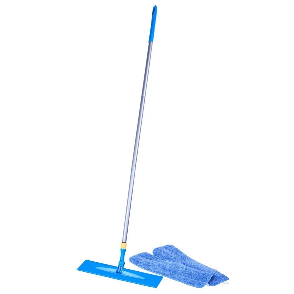 As Seen on TV Microfiber Swivel Mop, Blue