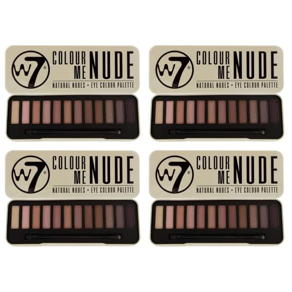 authentic quality superior quality on feet shots of Shop W7 Colour Me Buff Natural Nudes Eye Colour Palette Tin ...