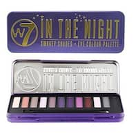 W7 In The Night Smokey Shades Eye Colour Palette Tin