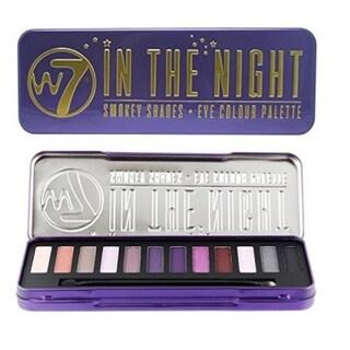 W7 In The Night Smokey Shades Eye Colour Palette Tin