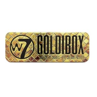 W7 Goldibox and the 12 Shades Eye Colour Palette Tin