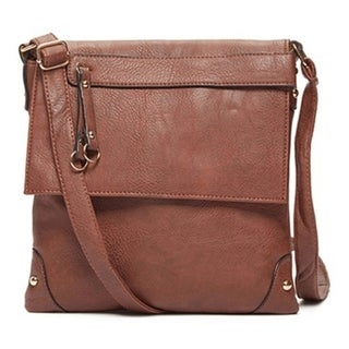 The Getaway Leather Crossbody Handbag