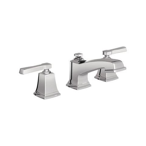 Moen Boardwalk Two Handle Lavatory Faucet Widespread Chrome