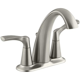 Kohler Mistos Two Handle Lavatory Faucet 4 In. Brushed Nickel