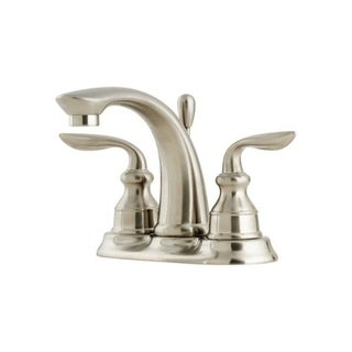 Pfister Avalon Two Handle Lavatory Faucet 4 in. Brushed Nickel