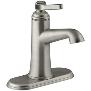 Kohler Georgeson Single Handle Lavatory Faucet 4 In. Brushed Nickel