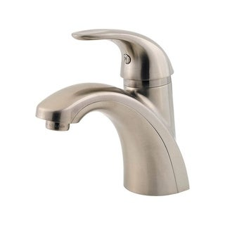 Pfister Parisa Single Handle Lavatory Faucet Brushed Nickel 4 in.
