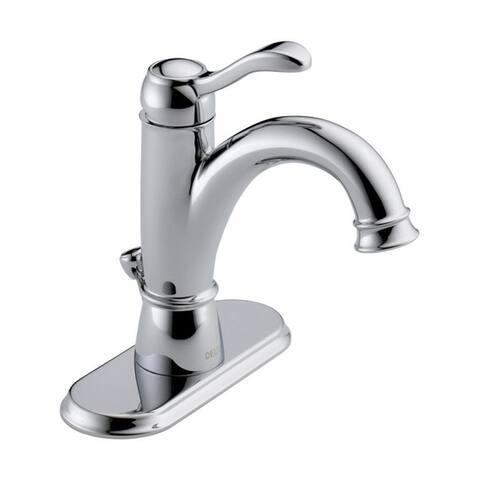 Delta Porter Single Handle Lavatory Pop-Up Faucet 4 in. Chrome
