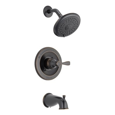 Shop Delta Tub And Shower Faucet 1 Handle Classic Oil Rubbed Bronze