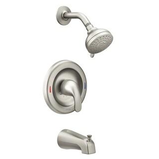 Moen  Adler  Posi-Temp  Tub and Shower Faucet  Brushed Nickel
