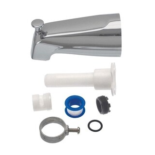 Danco Bathtub Diverter Spout Chrome Finish Metal Material
