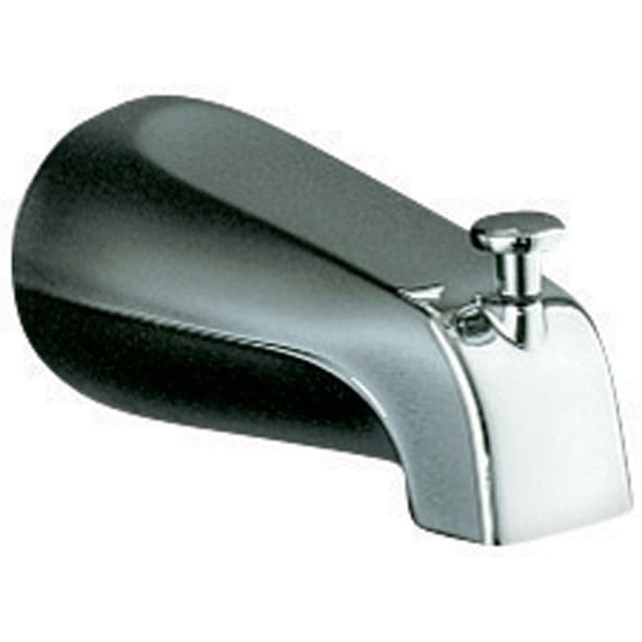 Shop Kohler Bathtub Diverter Spout Polished Chrome Finish - Free ...