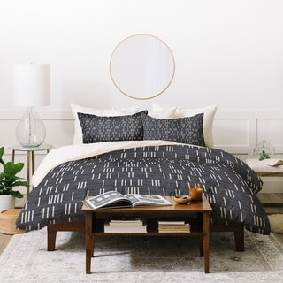 Holli Zollinger Bogo Denim Mudcloth Light Duvet Cover Set