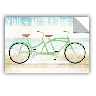 ArtAppealz Michael Mullan's Beach Cruiser Tandem, Removable Wall Art Mural