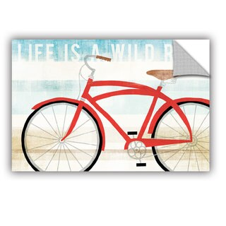ArtAppealz Michael Mullan's Beach Cruiser His I, Removable Wall Art Mural