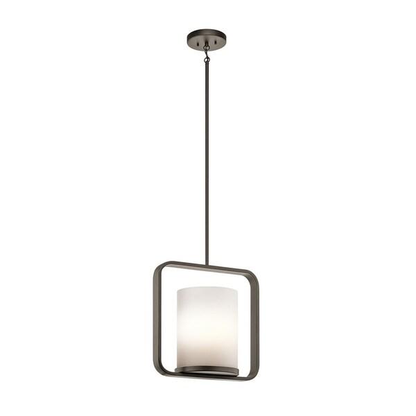 Kichler Lighting City Loft Collection 1-light Olde Bronze Pendant