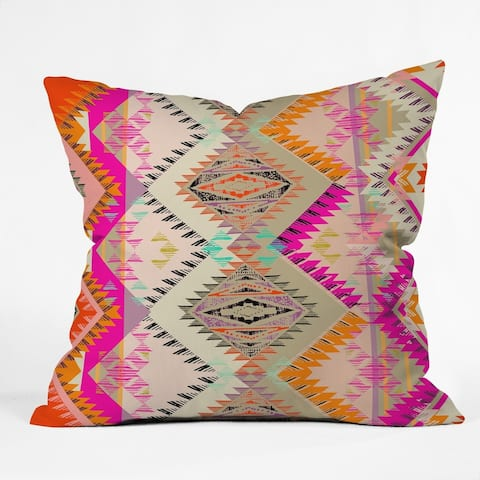 Pattern State Marker Southern Sun Throw Pillow