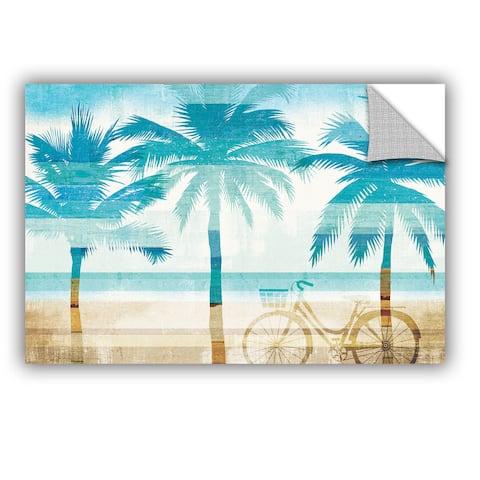 ArtAppealz Michael Mullan's Beachscape Palms I, Removable Wall Art Mural