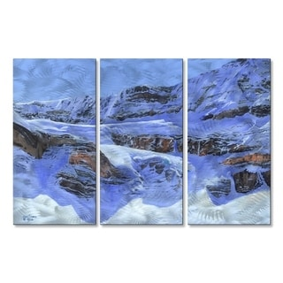 Metal Wall Art Crowfoot Glacier1 Glen Frear