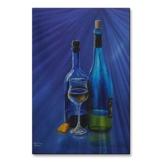 Metal Wall Art Wine and Cheese Glen Frear
