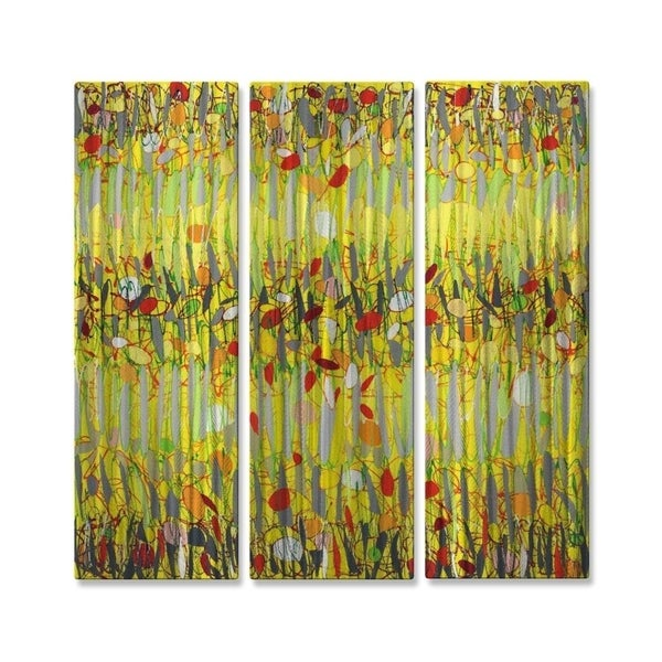 Metal Wall Art Yellow Jazz Alexis - Free Shipping Today - Overstock ...