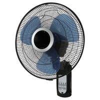 Pelonis  Wall Mount Fan  23 in. H x 16 in. Dia. 3 speed Oscillating Electric  3 blade Black