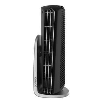 Vornado Tower Fan 14.5 in. H x 5.2 in. L x 5.4 in. W 4 speed AC Black