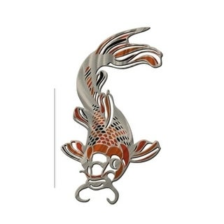 Metal Wall Art Koi Fish Ash Carl