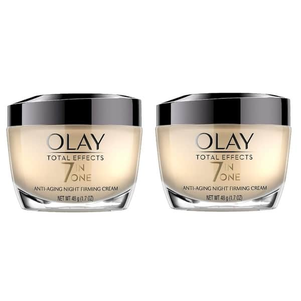 Shop Olay Total Effects 7 In 1 Anti Aging Night Firming Cream 1 7 Oz Overstock 18176305