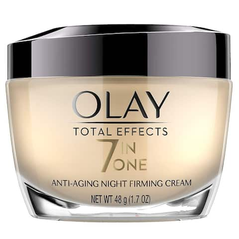 Olay Total Effects 7 in 1 Anti Aging Night Firming Cream, 1.7 Oz