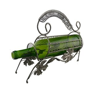 Wine bottle holder by Wine Bodies, Grapes & vine with handle