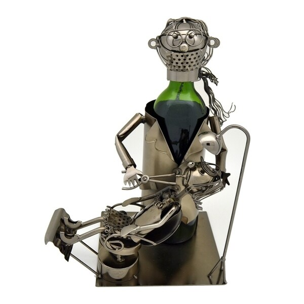 Wine bottle holder by Wine Bodies, Lady Dentist doctor