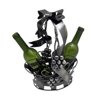 Wine bottle holder by Wine Bodies, Gift Basket holding two bottles