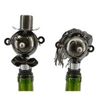 Wine stopper by Wine Bodies, pair of Bride and Groom