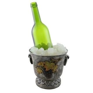 Wine bottle holder by Wine Bodies, Chilling wine bucket with ice pieces