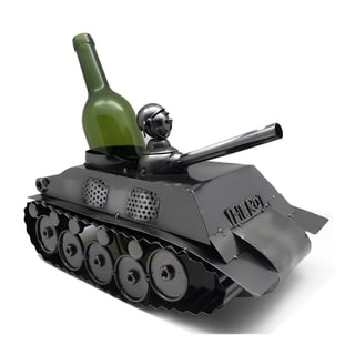 Wine bottle holder by Wine Bodies, Army Tank
