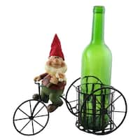 Wine bottle holder by Wine Bodies, Tricycle rider Gnomb