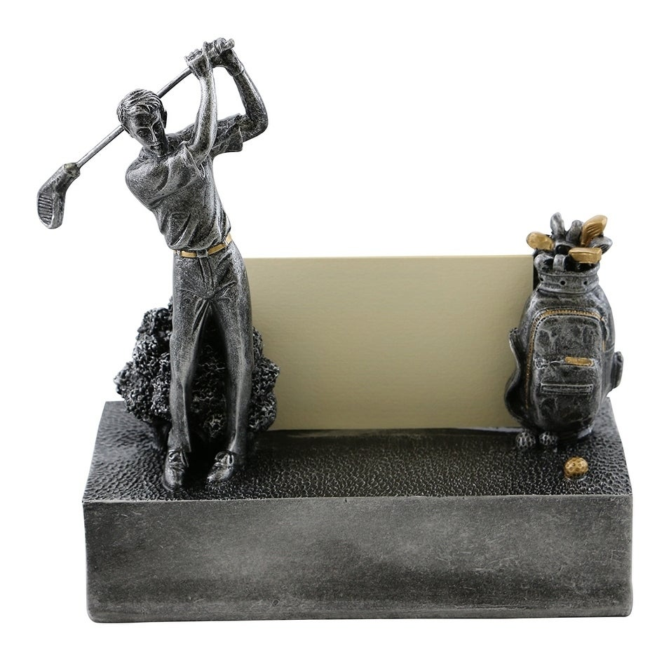 Business card holder by Wine Bodies, Golfer and golf bag ...