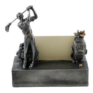 Business card holder by Wine Bodies, Golfer and golf bag