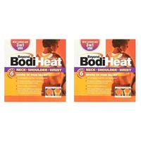 Beyond BodiHeat Neck Shoulder and Wrist Heating Pad for 6 Hours of Pain Relief