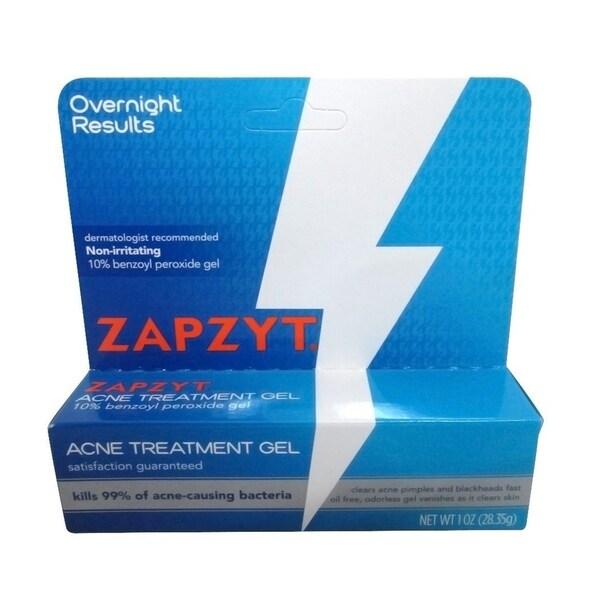 Shop Zapzyt 10 Percent Benzoyl Peroxide 1 Ounce Acne Treatment Gel