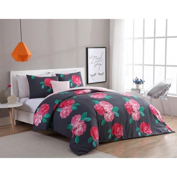 VCNY Home Rosemary 4-piece Duvet Set