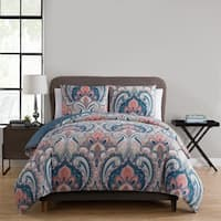Porch & Den Ustick 3-piece Reversible Duvet Cover