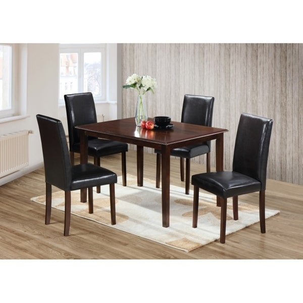 Shop Best Quality Furniture Rectangular Cappuccino Dining