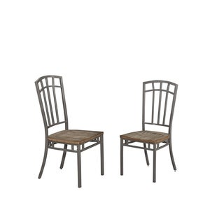 Home Styles Barnside Metro Dining Chairs (Set of 2)