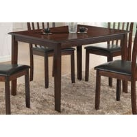 Best Quality Furniture Rectangular Cappuccino Dining Table