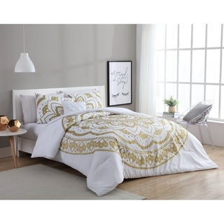 VCNY Home Karma 4-piece Duvet Cover Set (2 options available)
