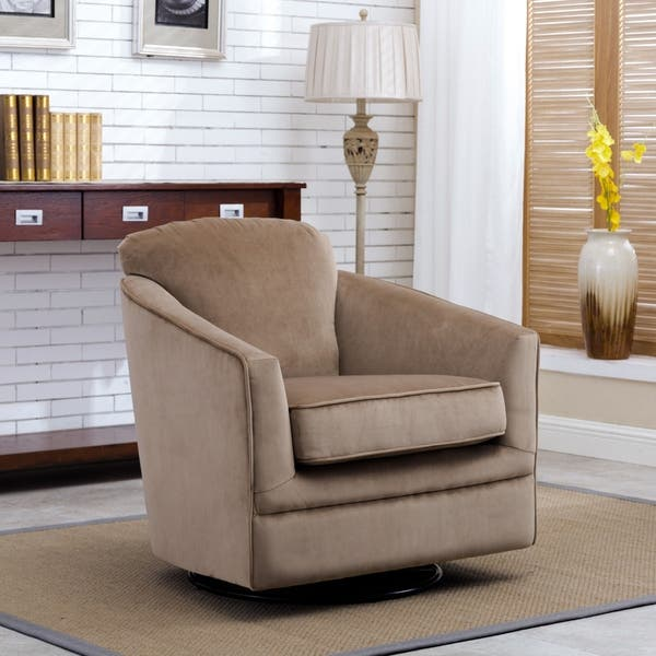 Pleasing Shop Brooke Swivel Glider By Greyson Living Free Shipping Squirreltailoven Fun Painted Chair Ideas Images Squirreltailovenorg